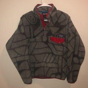 Patagonia Synchilla Aztec Print Fleece Jacket
